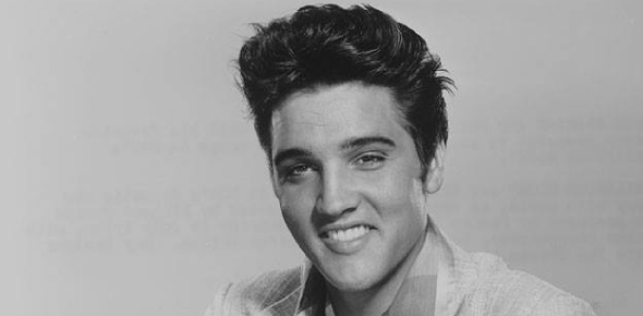 Why is Elvis Presley called the king of rock?