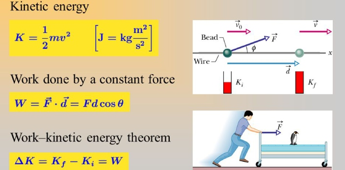 Energy is the ability to produce or create work. Power can be converted from one form of energy
