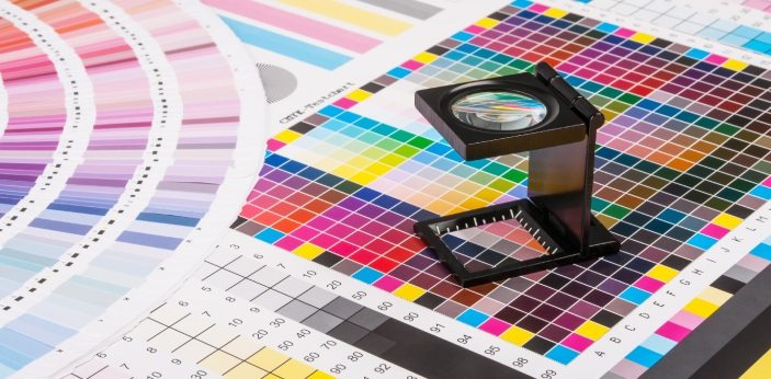 Offsetting printing and digital printing are used in producing quality print works. However,