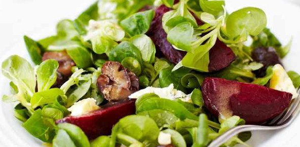 Which vegetables are best to make salad?