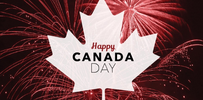 Canada Day is a national holiday that marks the union of the 3 colonies of the Province of Canada,