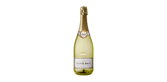 Both Cuvee and brut are terms for sparkling wines. Cuvee is most times used in various ways to