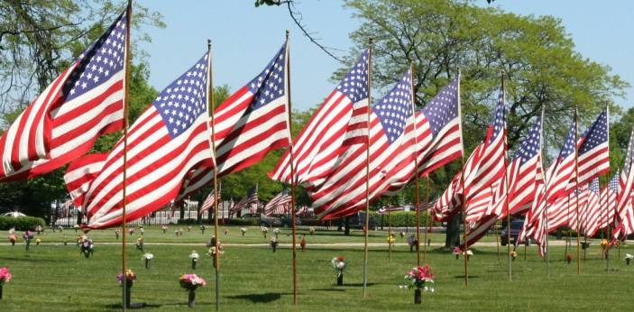 Memorial Day and Veterans Day are two different things. They are not the same in terms of their