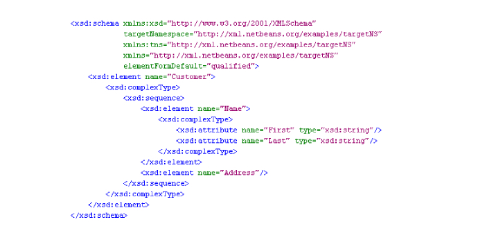 XML Schema is usually written in XML while the DTD comes from SGML syntax. Their purpose is also