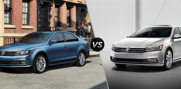 Volkswagen has been known for providing luxurious sedans, and their two most coveted and compared