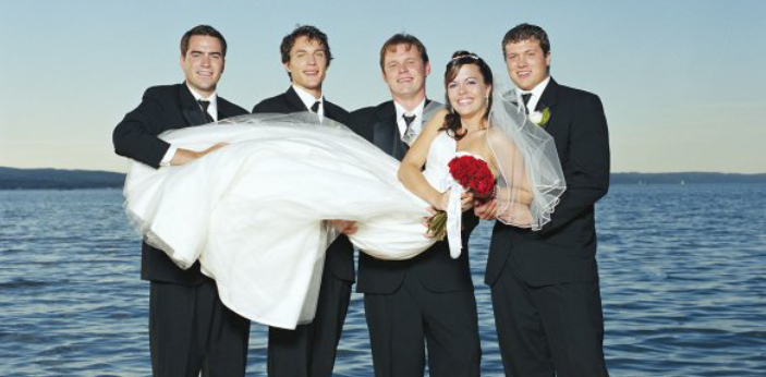 Marriage is usually considered as a form of social contract between two partners willing to be