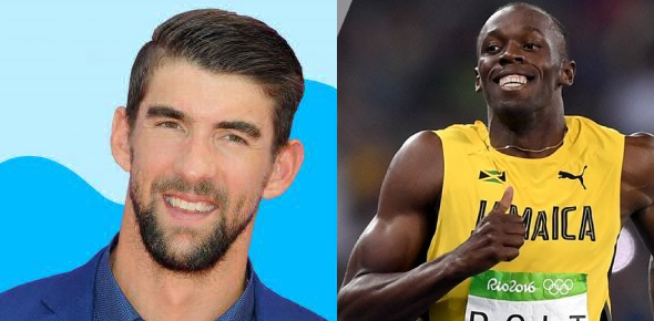 Who is the greater Olympian, Usian Bolt or Michael Phelps (and why)?