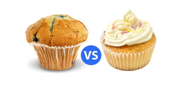 A cupcake is a delightful treat, which is a small, circular cake baked in a pan. It usually comes
