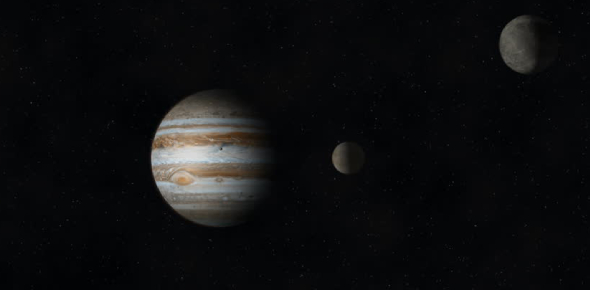 How long does Europa take to rotate around Jupiter?