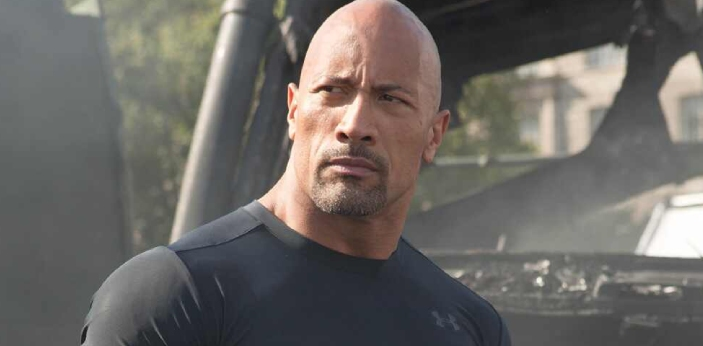 The Rock can handle 425 pounds for a single and he can bench press up to 450lbs, depending upon his