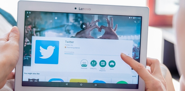How much data does Twitter use?