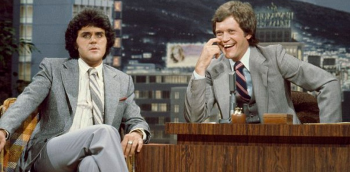 One thing that people love to do is to watch television. Jay Leno and David Letterman are two