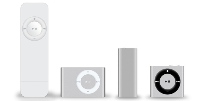 The iPod Shuffle and Nano might not be known to the younger generations of today, but these are a