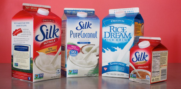 People who have lactose intolerance opt to choose soy milk and lactose-free milk over regular milk.