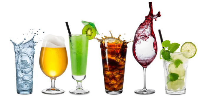 There is no significant difference between beverage and drink, and at times people get confused by