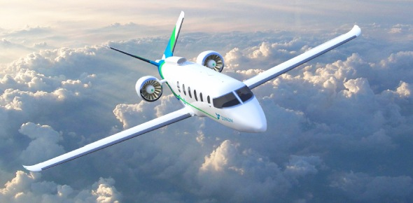 Most airplanes today are made out of aluminum, a strong, yet lightweight metal. The first passenger