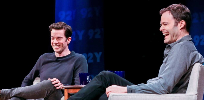 There is a back-story regarding the joke between Harder and John Mulaney, aired on Saturday night