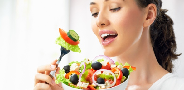 When can I eat salad?