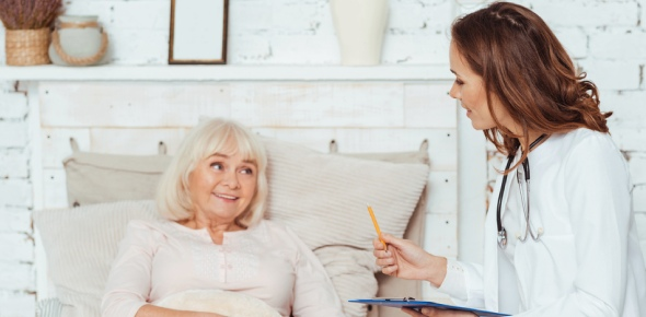 Which foods should the nurse emphasize when caring for an elderly client with a pressure ulcer on the sacrum?