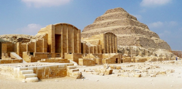 Mastaba and Pyramid are both ancient sites in Egypt. A mastaba is a type of tomb for burying the