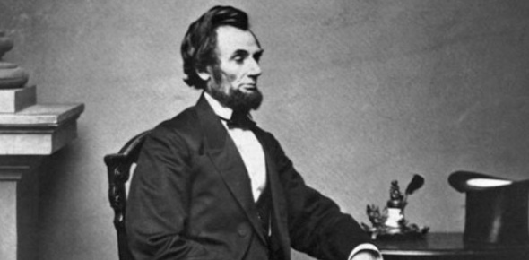 How did Lincoln strengthen the democracy?