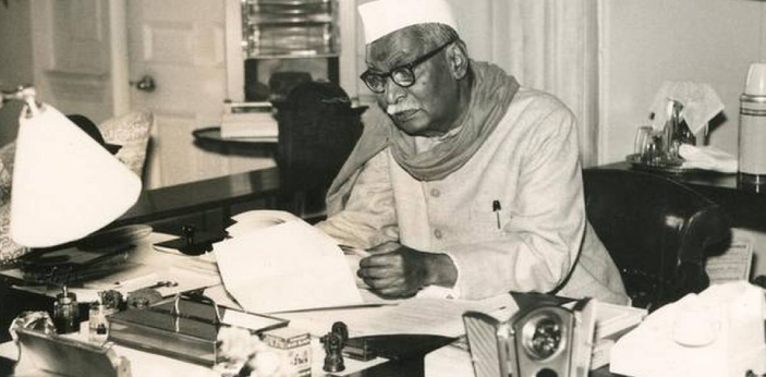 The correct answer to this question is President Rajendra Prasad. He introduced the article as a