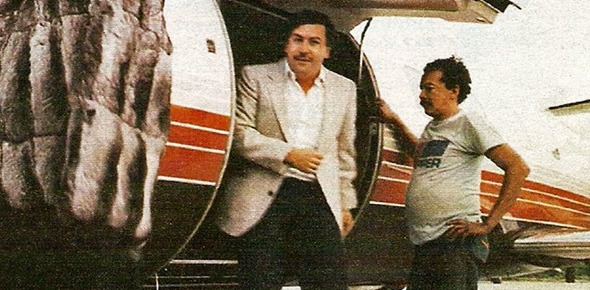 How much was Pablo Escobar worth at the peak of his narcotics career?