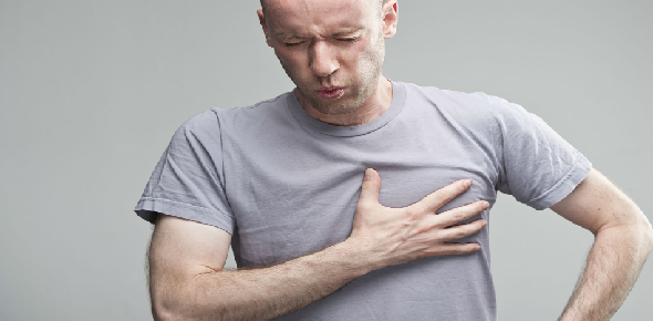 Is there any home remedy for heart pain?