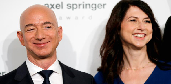 Will the divorce affect Jeff Bezos' public image?