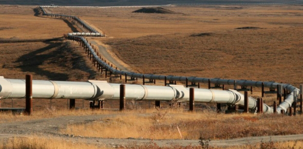 Oil is not exactly mined, it is extracted from the earth. Oil fields are located with the help of