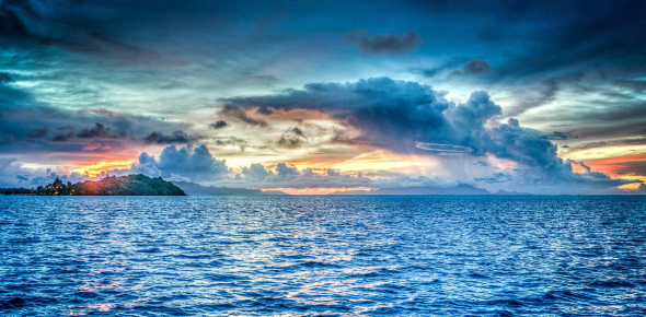 Ocean and Sea are the largest bodies of water know the landmass. As thought by geography, a sea is
