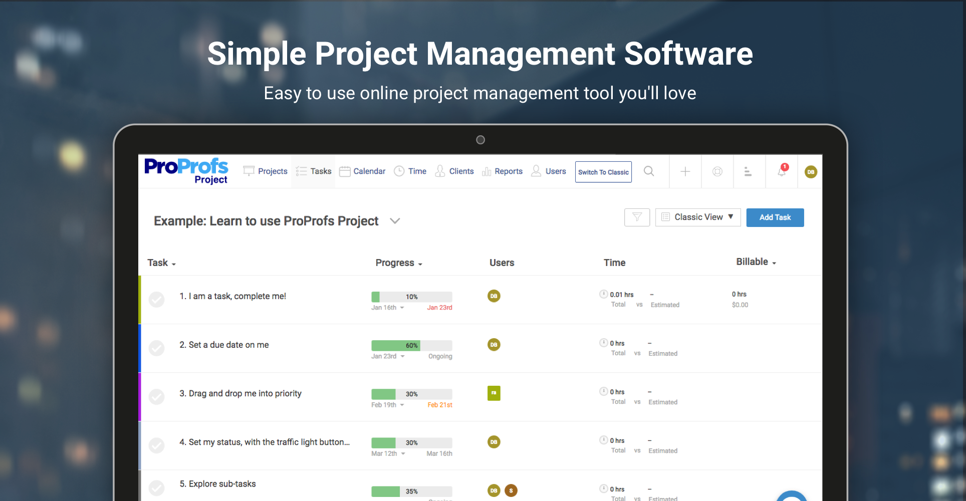 These days, having a cloud-based project management tool is very crucial, as that's the key