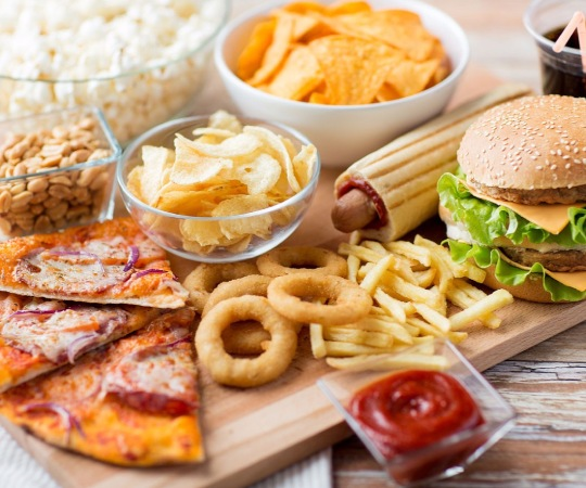 Fast Food Sliding Puzzle