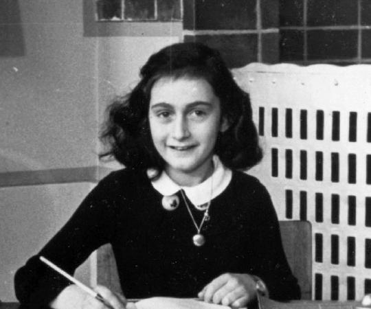 Diarist Anne Frank Sliding Puzzle