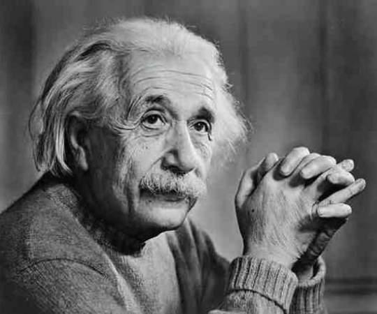 Albert Einstein Funny Sliding Puzzle