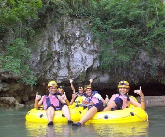 Cave Tubing Adventure Sliding Puzzle