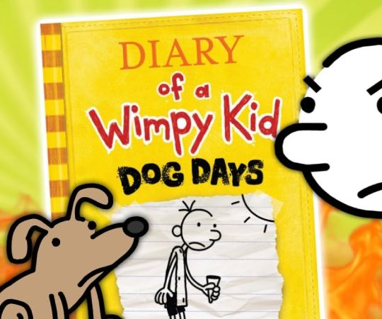Diary Of A Wimpy Kid Sliding Puzzle