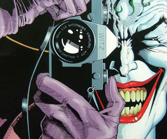 Batman: The Killing Joke Graphic Novel Sliding Puzzle