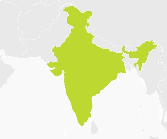 India Map Sliding Puzzle