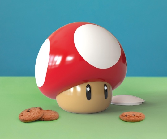 Mario Mushroom Puzzle