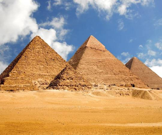 Form Egyptians Pyramid With Sliding Puzzle