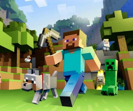 The Famous Minecraft Sliding Puzzle